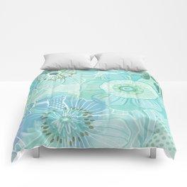 Hooray Blue! Comforters