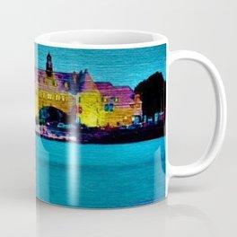 Narragansett Towers & Coastguard House Landscape Coffee Mug