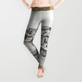Fish Town Leggings