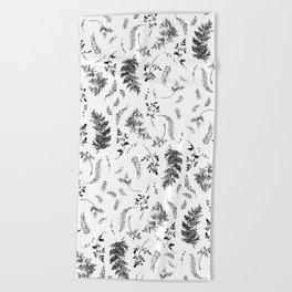 FERN PRINT Beach Towel