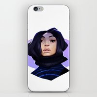 asian iPhone & iPod Skins featuring Asian by Max Grecke