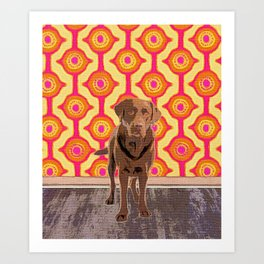 Hersh-ee Art Print
