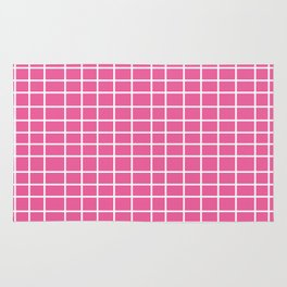 Squares of Pink Rug