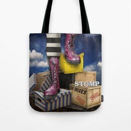 Stomp Tote Bag