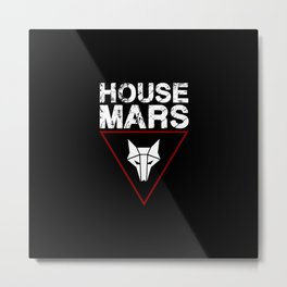 House Mars Metal Print