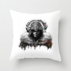 assassins creed ezio auditore Throw Pillow