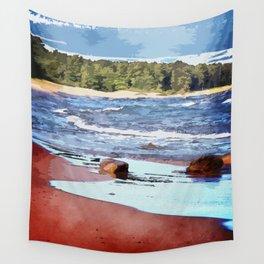 Lake Superior Bay Wall Tapestry