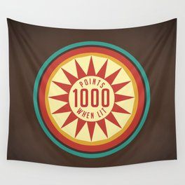 Pinball Points Wall Tapestry