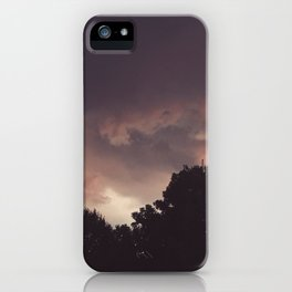 northern liberties gettin' moody iPhone Case