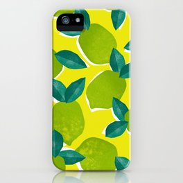 Limes for daysss iPhone Case