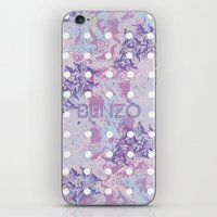 kenzo iPhone & iPod Skins featuring Benzo Pills by chobopop