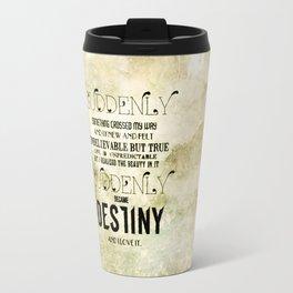 Suddenly Travel Mug
