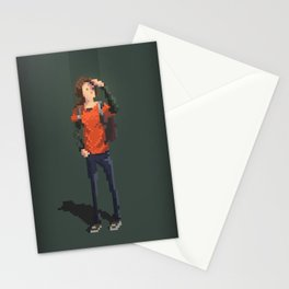 Ellie The last of us Pixel Art Stationery Cards