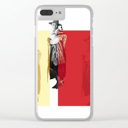 Valentino triptych Clear iPhone Case