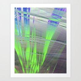 Flat blades Art Print