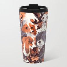Pack of Dogs Metal Travel Mug