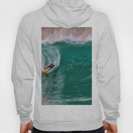 Backside Surfing at the Wedge Hoody