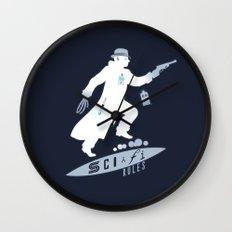 SCI-FI Rules Wall Clock