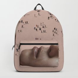 Out in Beige Backpack