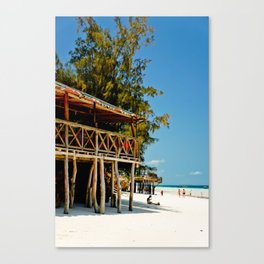 Wish you were here. Canvas Print