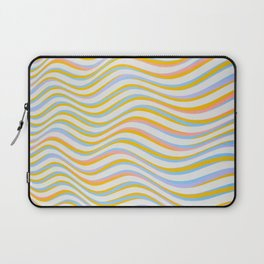 wave abstract art artistic Laptop Sleeve