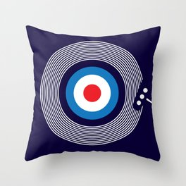 Modernist Kind Of People Throw Pillow