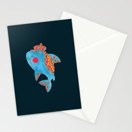 The Strong Shark Stationery Cards