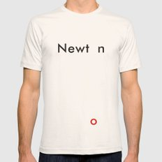 Newton Natural 2X-LARGE Mens Fitted Tee