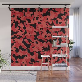 Grenadine Camouflage Wall Mural