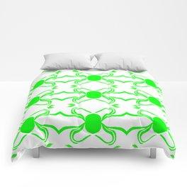 Linus Green Comforters