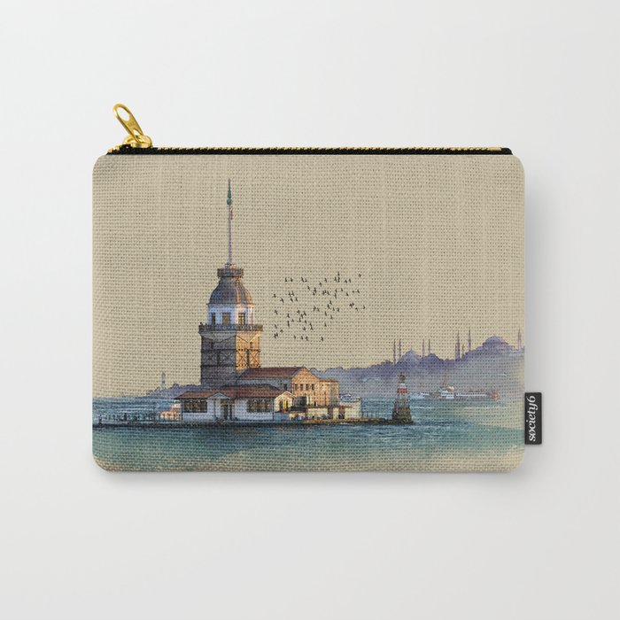 Istanbul Maiden Tower Carry-All Pouch