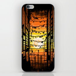 the wires iPhone Skin