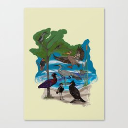 Some Birds Canvas Print