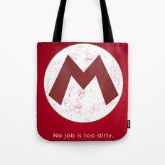 Mario Hero Tote Bag