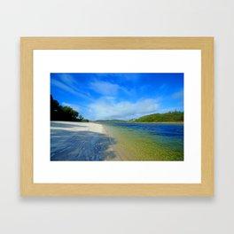 Silver Sands of Morar Framed Art Print