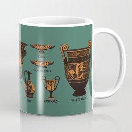 Greek Pottery Coffee Mug