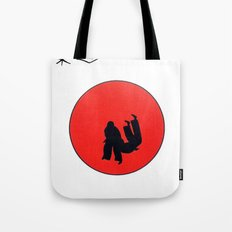 Art Of Judo Print Tote Bag