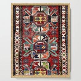 Karabagh Antique Azerbaijan South Caucasus Rug Print Serving Tray