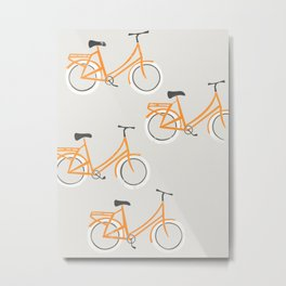 Bicycles Metal Print