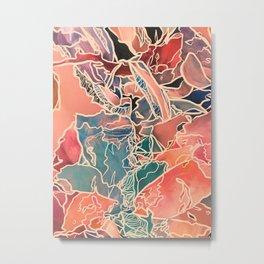 Tickle me, Rose Metal Print