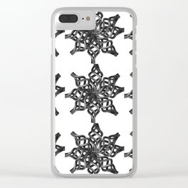 Wrought Iron Clear iPhone Case