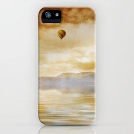 Hot Air Balloon Escape iPhone Case