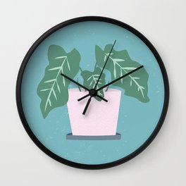 Grow Where Your Planted Wall Clock