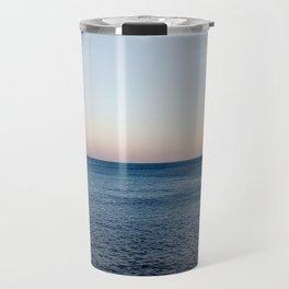 Where the Ocean meets the Sky Travel Mug