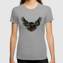 Raven Cycle Safe As Life T-shirt