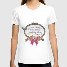 Selfie Mirror T-shirt