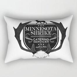 Minnesota Shrike Catering Rectangular Pillow