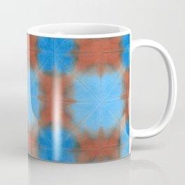 Shibori (blue and brown) Coffee Mug