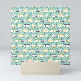 Happy Campers Mini Art Print