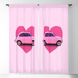 The Pink 500 Car Lover Blackout Curtain